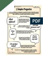 5 Preguntas Metacognitivas