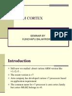 Arm Cortex Ppt
