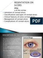 Clinical Presentation on Corneal Ulcers Power Point