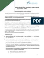 Manual y Guía de Uso Para La Presentación de La Oferta 2239-4-LR16-1