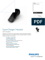 Super Charger Headset