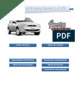 Planilha de manutenção - Ford Fiesta Street