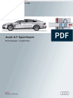 SSP 480  Audi  A7 sportback running gear suspension