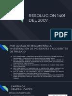 Resolución 1401 de 2007[350]