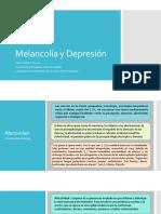 Melancolia y Depresion