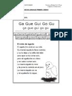 Guia de Lenguaje Primero Basico.