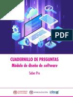 Cuadernillo de Preguntas Diseno de Software Saber Pro 2018