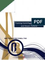 Training Centrifugal Compressor and Steam Turbine