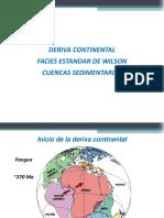 Sesión 10_Deriva Continental-Facies Estándar de Wilson-Cuencas Sedimentarias