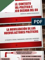Chile Contexto Social y Político 1960