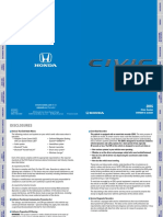 Civic Owners Guide