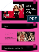 sex and the city presentation