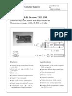 Fluxgate Sensor Data Sheet_FMS 100