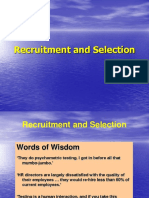 Recruitment Selctions