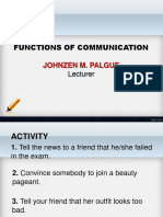 Functions of Communication Johnzen [Autosaved]
