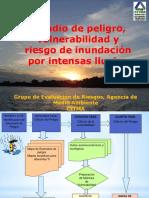 Estudio de peligro, vulnerabilidad y riesgo de inundación por intensas lluvias