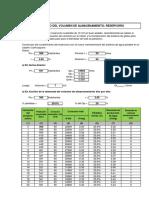 Cálculo Pf y Volumen Reservorio