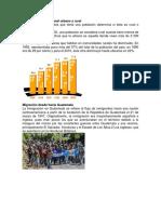 Crecimiento Poblacional Urbano y Rural
