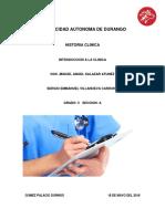 Historia Clinica Sergio