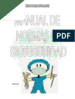 Manual de Normas de Bioseguridad Cocercas