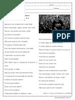 Atividade de Português Interpretação de Texto 1º Ano Com Respostas 1