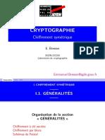 FR - Chiffrement Symétrique