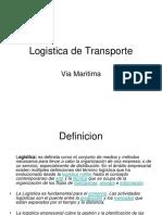 Presentacion Logistica de Transporte