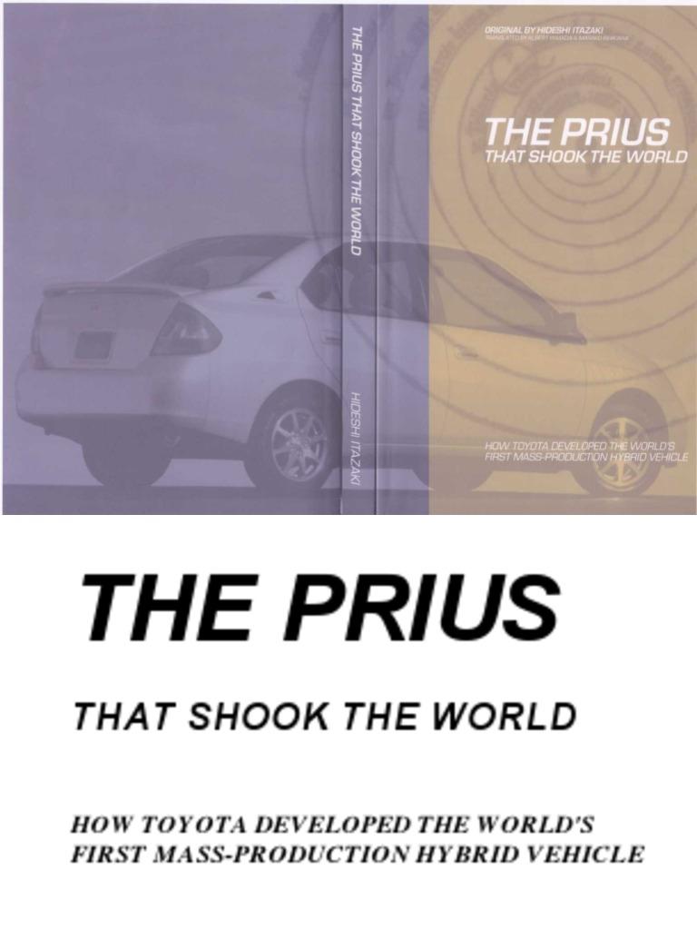 Prius That Shook World Toyota Fuel Economy In Automobiles Relay Pump Kuda