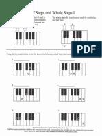 Whole Steps, Half Steps and Enharmonics