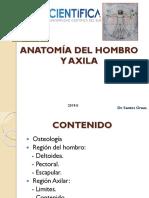 1. ANATOMÍA DEL HOMBRO Y AXILA 2018