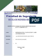 Diseã'o Nueva Camara de Conservacion Camposol