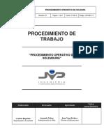 PROCEDIMIENTO OPERATIVO SOLDADURA