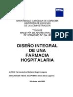Diseño integral de una farmacia Hospitalaria