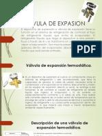 Valvula de Expasion - Expisicion