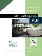 DOH Health Programs 2016 - 2017