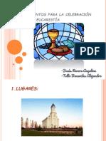 Elementos Para La Celebración de La Eucaristía