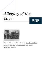 Allegory of the Cave - Wikipedia