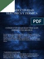 Conductividad Electrica y Termica
