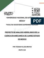 Analisis Hidrologico de La Cuenca Amecameca de Juarez 1-Copiar
