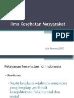 Ilmu Kesehatan Masyarakat (PPT )