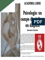 Psicología, un campo diciplinar en disputa
