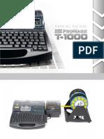 Catalog Promark T 1000 En