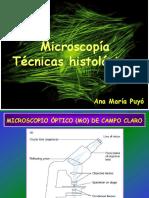 Microscopía - Puyó