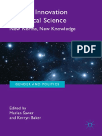 Gender and Politics Marian Sawer Kerryn Baker - Gender Innovation in Political Science 2019 Springer International Publ