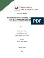 Estadísticos hidrográficos de la Cuenca de Chancay