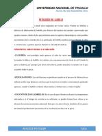 PATOLOGIA DEL LADRILLO