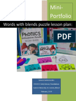 words with blends lessons  1