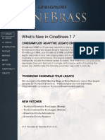 CINEBrass CORE User Manual