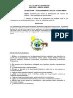 Clasificación, Estructura y Funcionamiento de Los Ecosistemas