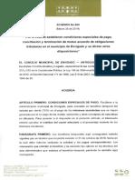 Acuerdo 006 - de 2019